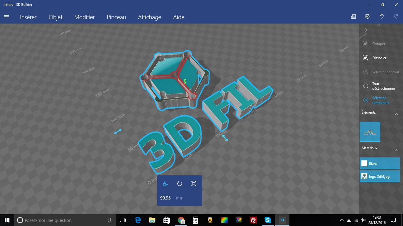 3DFIL by 3Dbuilder