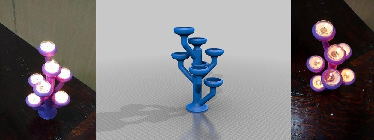 Porte bougie by CreateCafe3D